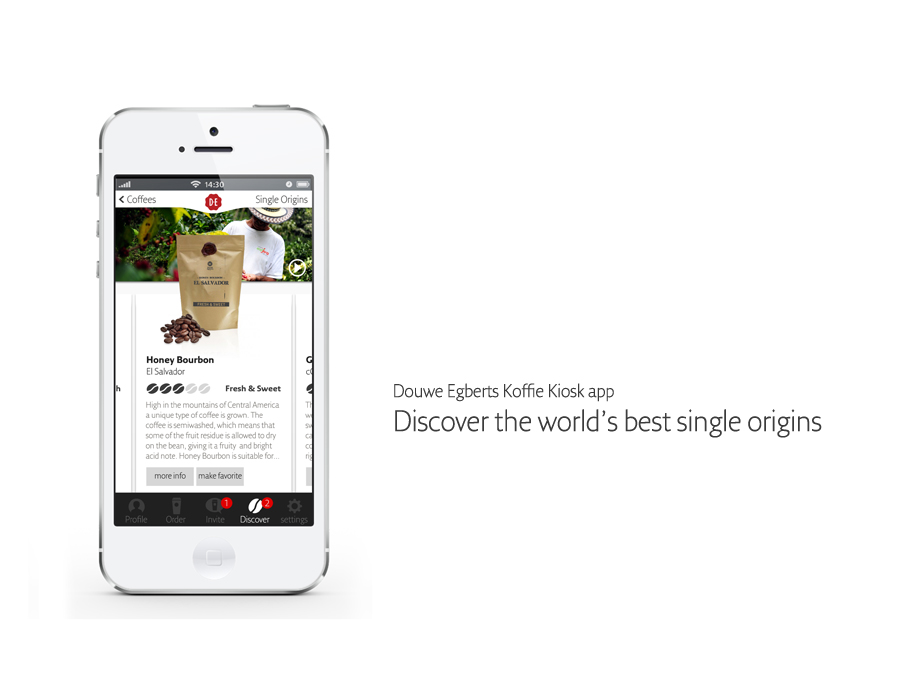 Building consumer engagement with a coffee customization app «
